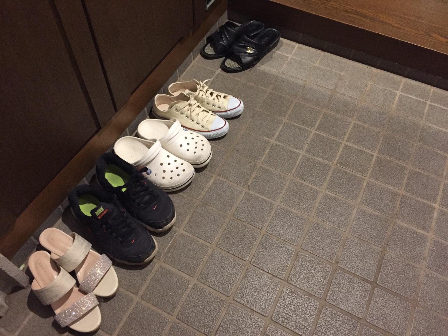 玄関の靴の臭いが気にならないような玄関リフォーム【佐世保市F町】
