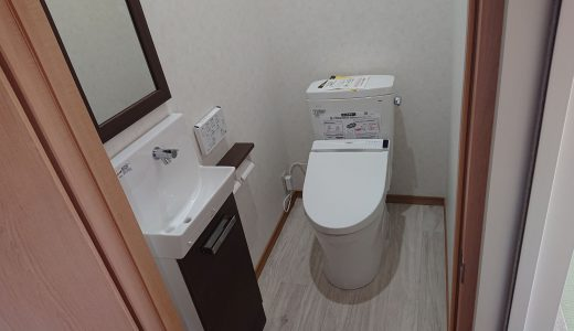 佐世保市もみじが丘町で2階の納戸にトイレを新設しました