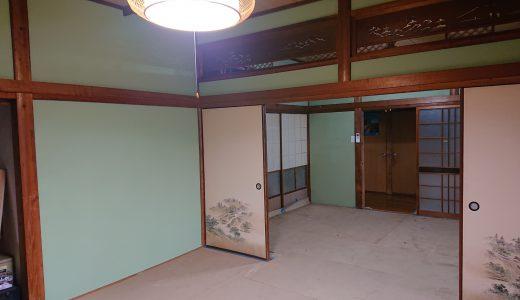 佐世保市原分町で聚楽壁の塗り替え工事をしました