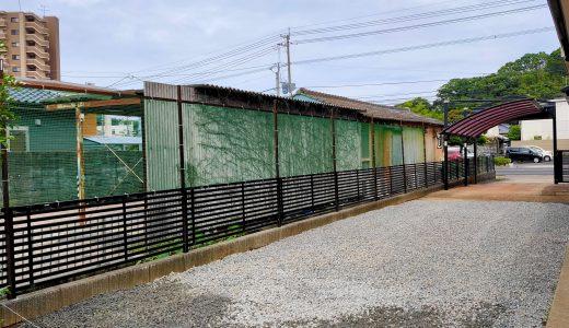 佐世保市上相浦町で駐車場の拡張工事を行いました